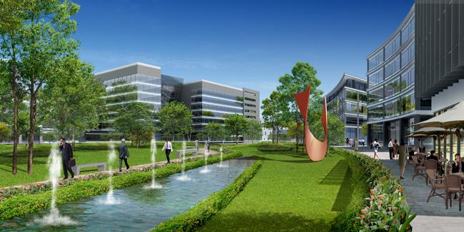 Khu công nghệ cao Mappletree - Thành phố mới Bình Dương